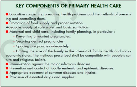 health care key compenets